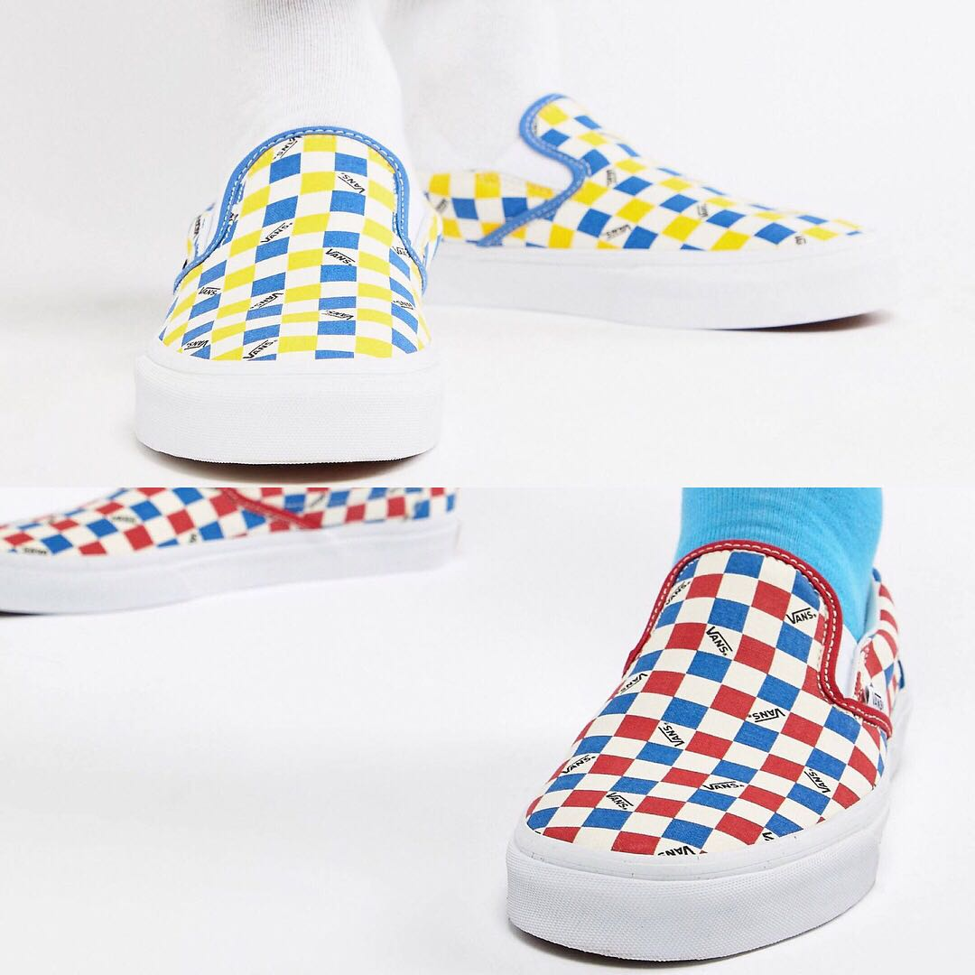 db85d5430c Vans Factory Pack Classic Checkerboard Slip-on
