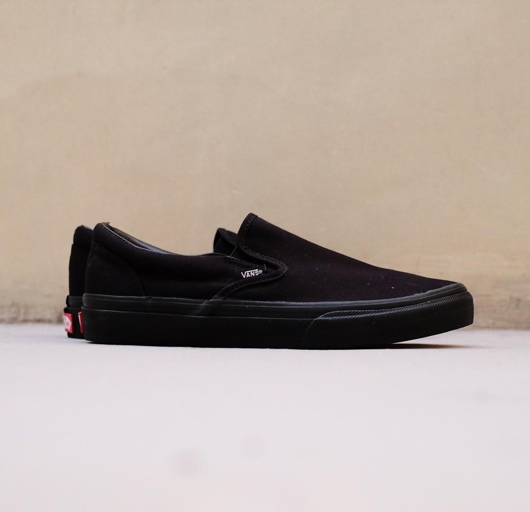 d2f9312b9ed Vans Slip-On V98cla All black Japan