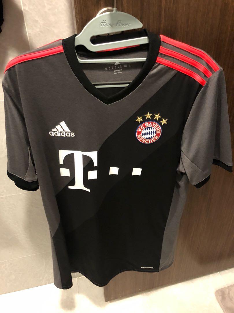 super popular 6c117 0879f WTS Adidas Bayern Munich Away Jersey with Vidal Name Set Size Medium