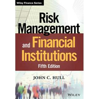 Risk Management and Financial Institutions 5th Fifth Edition by John C. Hull - Wiley