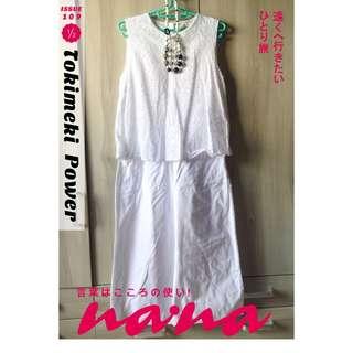 🚚 ZARA雙層褲裙洋裝