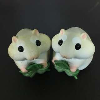🚚 奇譚 ☘️幸運草 倉鼠 絕版 扭蛋
