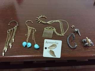 Earrings ear accessories ear cuff