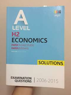 H2 Econs PYP solutions