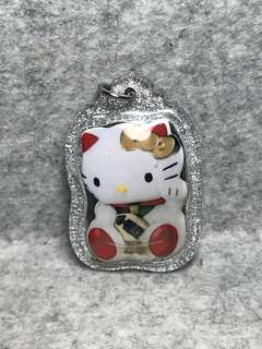 Lersi Gee Kong BE2561 Waikru Wealth Fetching Hello Kitty locket