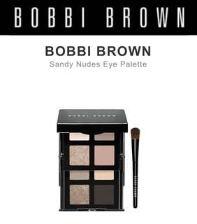 Bobbi Brown Sandy Nudes Eye Palette - Authentic