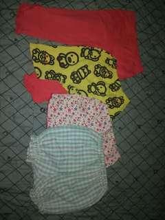 Pajama & shorts kids 4pcs