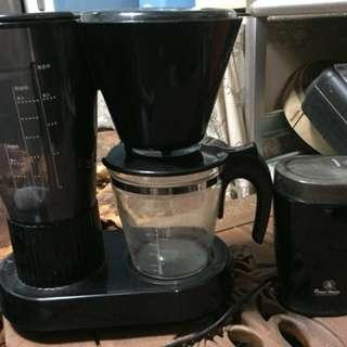 🚚 咖啡機加磨豆機整組!