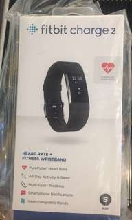 Fitbit charge 2 ori black size s