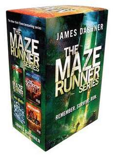 Maze Runner Book Set