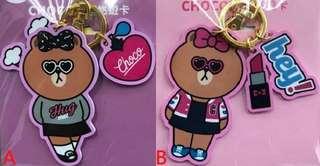 🚚 LINE FRIENDS 悠遊卡 LOVE CHOCO、 HEY CHOCO 兩款可挑