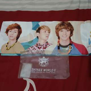 SHINEE World 2 Official Merchandise Towel