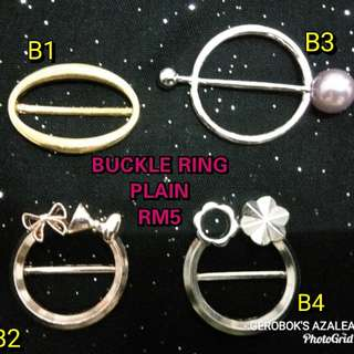 Buckle ring plain