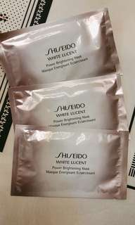 Shiseido White lucent Mask x3p