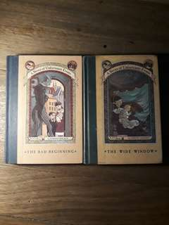 A Series of Unfortunate Events Book 1 and 3