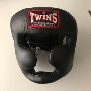 Twins boxing head gear