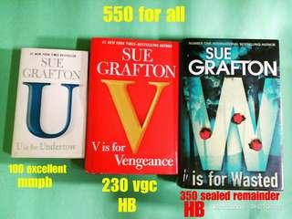 Alphabet books by Sue Grafton