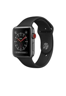 BNIB Apple Watch Series 3 Space Grey Aluminum Case with Black Sport Band (38mm)