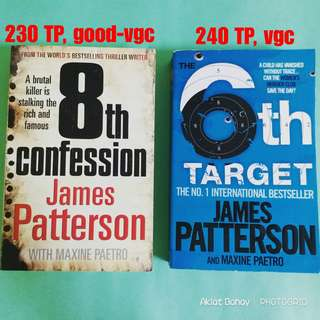 Women's Murder Club books by James Patterson