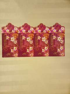 Mary Chia Red Packets (4 nos)