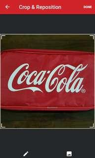 Coca cola (coke) shoe bag