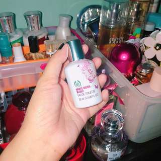 Perfume Collection: The Body Shop White Musk Blush 30ml
