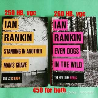 Rebus books by Ian Rankin