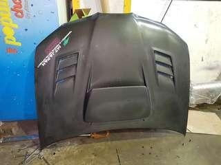 Subaru impreza wrx hawk eye carbon fibre bonnet