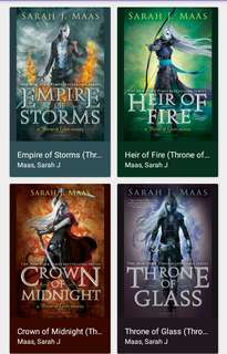 Throne of Glass Series by Sarah J. Maas Epub