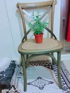 復古風格 藤椅