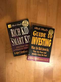 Rich Dad's Books by Robert T. Kiyosaki