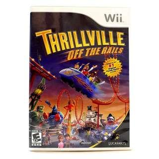 Wii Thrillville off the rails