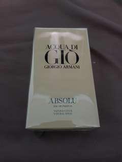🚚 Acqua Di Gio Absolu EDP 75ml