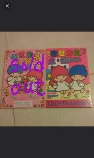 little twin stars 大本紙公仔