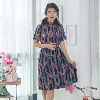 🍿 Vintage Midi Dress VD1281