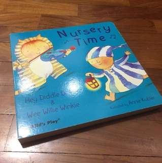CChild's Play 🎵 Nursery Time 🎵 - Hey Diddle Diddle & Wee Willie Winkie