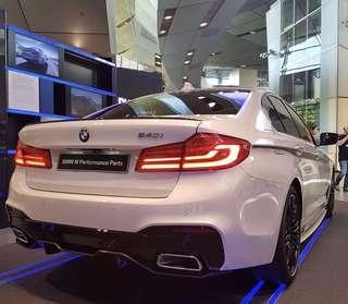 BMW 5 Series G30 M5 Style Spoiler
