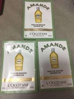 Amande Locittane shower oil