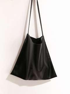Preloved like new Basic Hobo Bag - Black