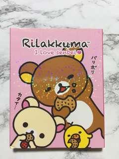 Limited edition Rilakkuma Notepad