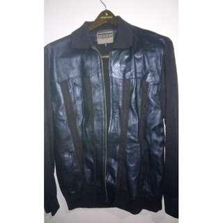 CIBREO Genuine Italian Leather / Knitted Jacket
