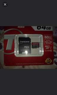 TRANSCEND 64GB Memory Card