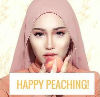 Hello peach please!
