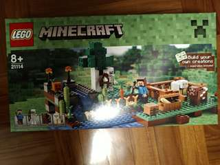 LEGO 21114 Minecraft the cave