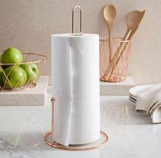 Nordic Rose Gold Kitchen Towel Holder