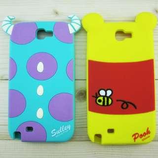 迪士尼 小熊維尼 SAMSUNG note 3 手機殼 case