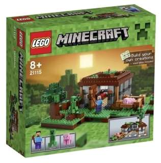 LEGO 21115 Minecraft the first night