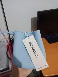 Miniso silicone mini slingbag