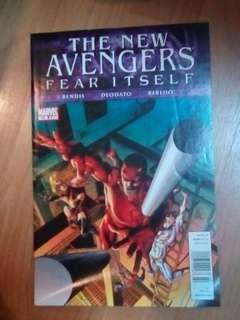 American Marvel DC comics