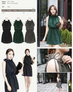 Makmaks Korea Green Dress